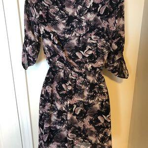 Temperance Sheer Floral Dress XS